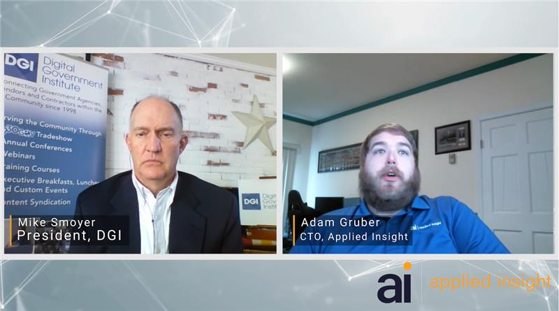 Applied Insight's Interview at Digital Government Institute's Cloud Summit 2020