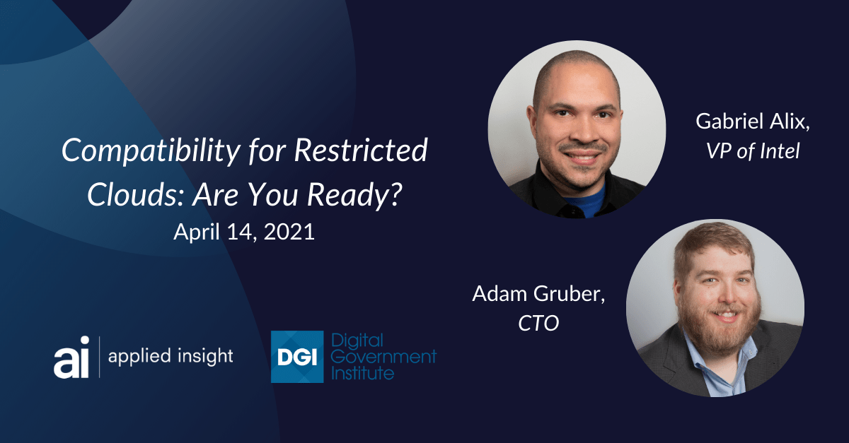Webcast on April 14: Compatibility for Restricted Clouds - Are You Ready?